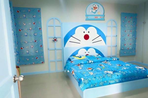 Desain Kamar Tidur Sederhana Serba Doraemon Terbaru 2019